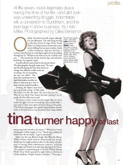 Tina Turner - Elle magazine - August 1996 - 03
