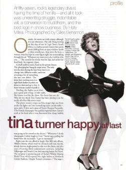 Tina Turner - Elle magazine - August 1996 - 03