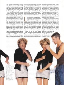 Tina Turner - Elle magazine - August 1996 - 05