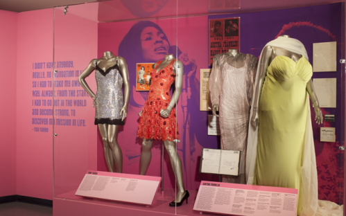 Tina Turner exhibition Rock and Roll Hall Of Fame