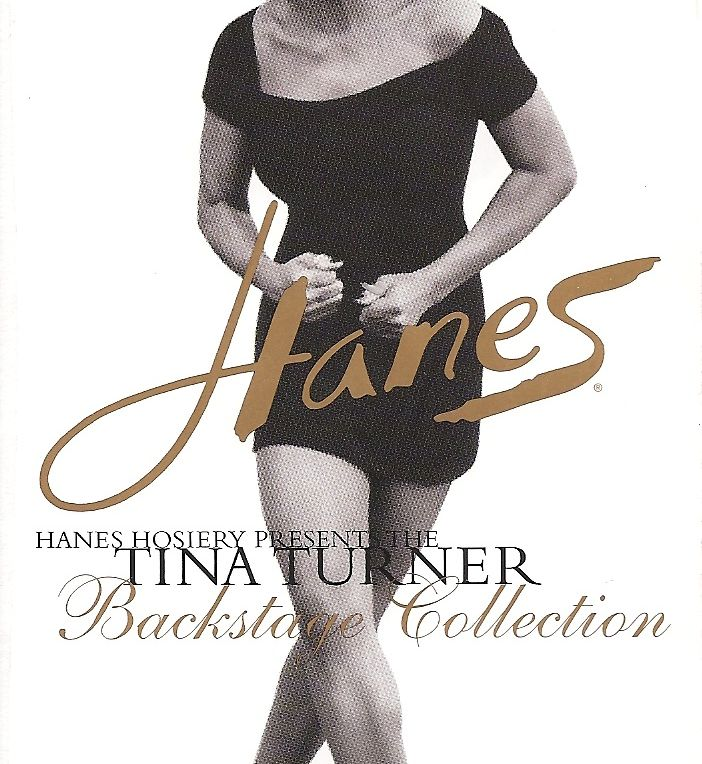 Tina Turner - Hanes advertisement (1) - USA - 1997