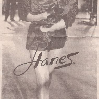 Tina Turner - Hanes advertisement (2) - USA - 1997