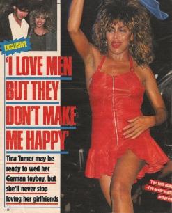 Tina Turner & Erwin Bach- UK magazine 1988 - 01