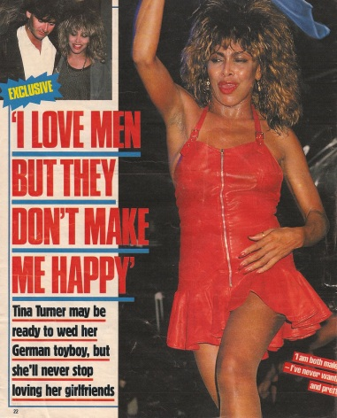 Tina Turner & Erwin Bach- UK magazine 1988 - 01