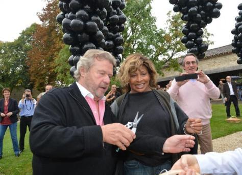 Tina Turner & Alain Dominique Perrin