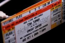 Tina Turner Kansas City Ticket by Nate