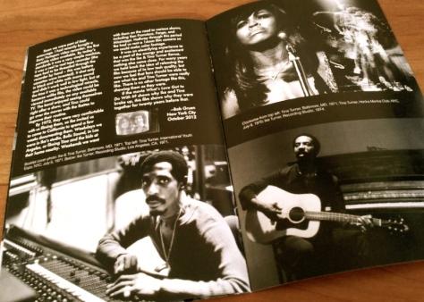 Ike & Tina Turner on the road 1971 1972 Bob & Nadya Gruen booklet 3