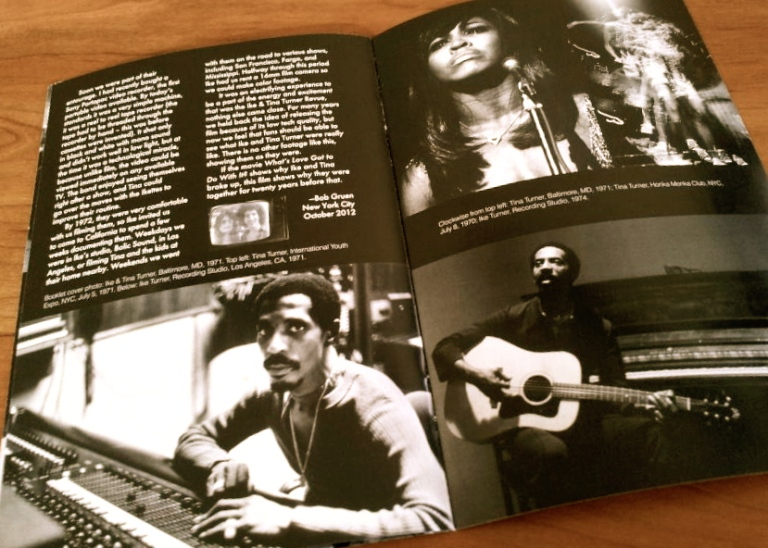 Ike & Tina Turner on the road 1971 1972 Bob & Nadya Gruen booklet 3