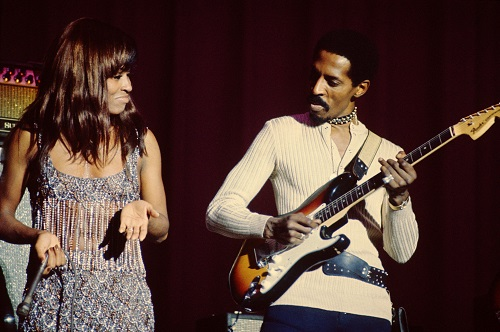 Ike & Tina Turner - On The Road 1971-1972 - by Bob Gruen