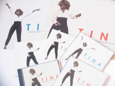 Tina Turner - When The Heartache Is Over singles - 1999