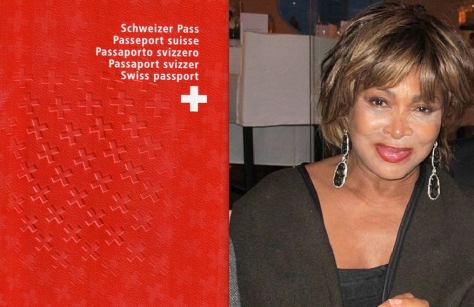 Tina Turner - Swiss Citizenship - Zurich 2013