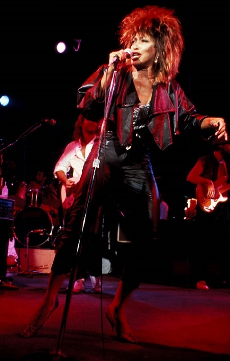 Tina Turner - Private Dancer tour - 1985