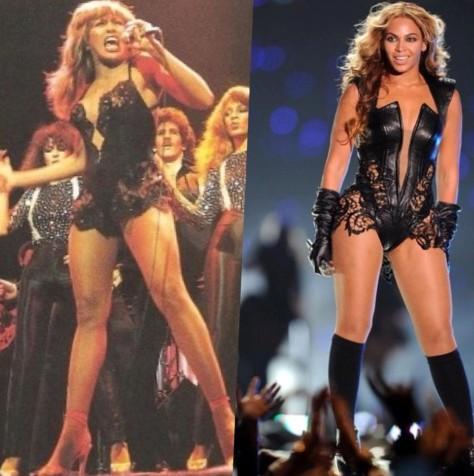 Tina Turner & Beyonce