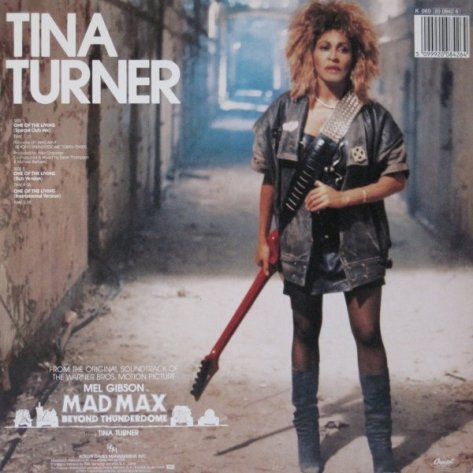 Tina Turner One of The Living Lp Back