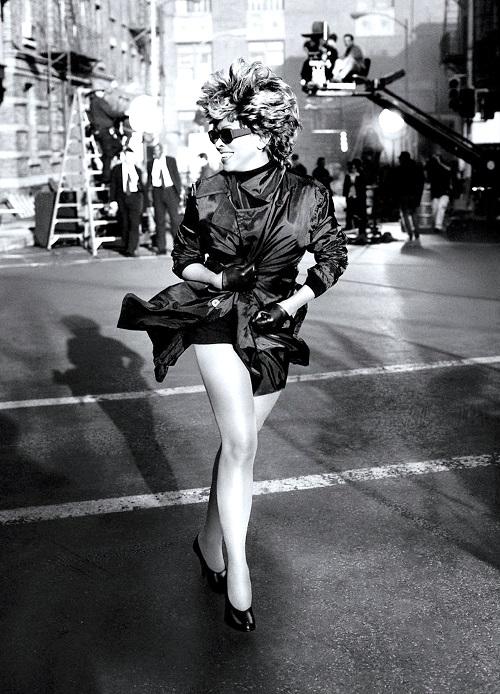 Tina Turner - on the set of Hanes