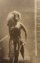 Tina Turner - Foreign Affair opening night - newspaper clipping