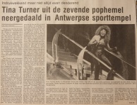Tina Turner - Foreign Affair opening night - newspaper clipping (3)