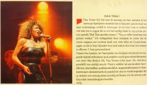 Tina Turner - Foreign Affair opening night - newspaper clipping (4)