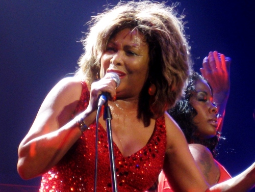 Nichelle Tillman with Tina Turner- Kansas City, USA - October 1, 2008