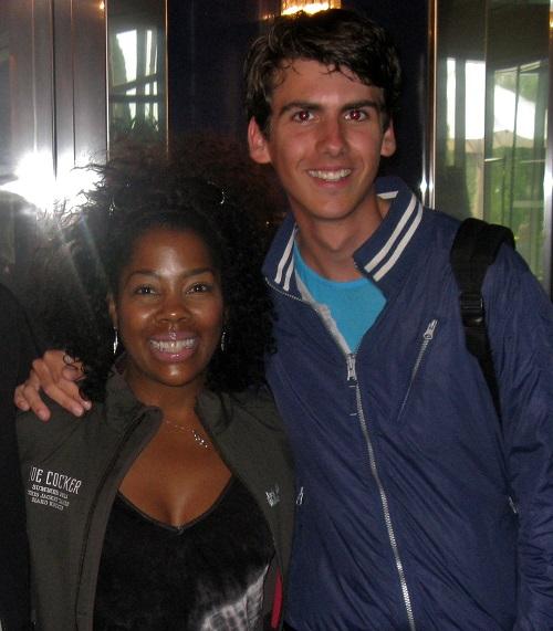 Sjef with Nichelle Tillman