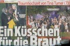 Tina Turner Wedding - Blick Newspaper 3