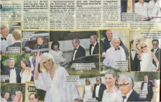 Tina Turner Wedding - Blick Newspaper 2
