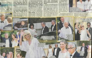 Tina Turner Wedding - Blick Newspaper 2