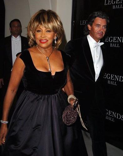 "Tina Turner & Erwin Bach at the ""Legends Ball"" May 14, 2005 © Sara De Boer / Retna Ltd"