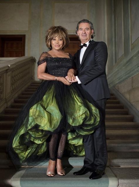 Tina Turner & Erwin Bach - marriage 2013