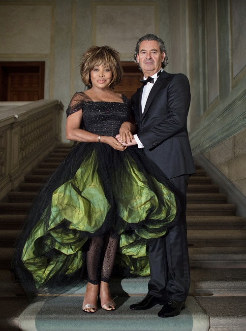 Tina Turner & Erwin Bach - marriage 2013