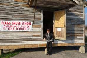 Rhonda Graam, Tina Turner long time assistant and friend visits Flagg Grove School