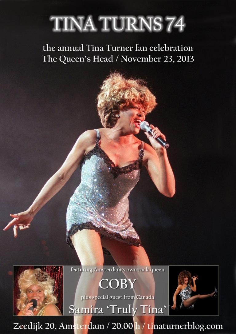 Tina Turner birthday fan party 2013