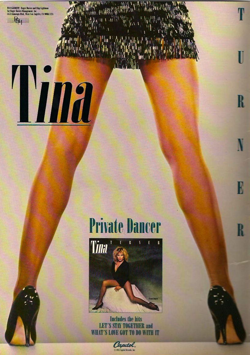 Tina private dancer lyrics