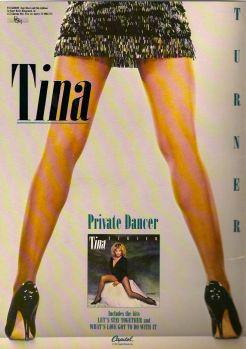 Tina Turner - Private Dancer Tour Book - 03