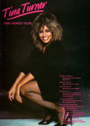Tina Turner - Private Dancer Tour Book - 04