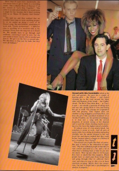 Tina Turner - Private Dancer Tour Book - 07