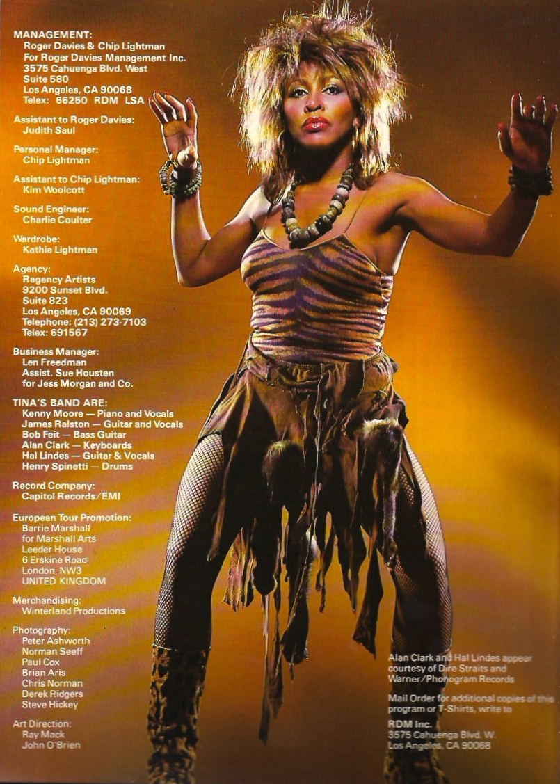 Tina Turner Private Dancer Tour Dvd