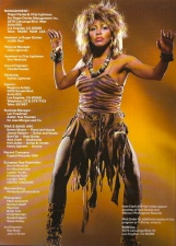 Tina Turner - Private Dancer Tour Book - 17
