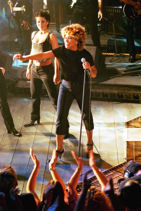 ©Jeff Spicer/Alpha Tina Turner - Riverside Studios - London - Oct, 1999