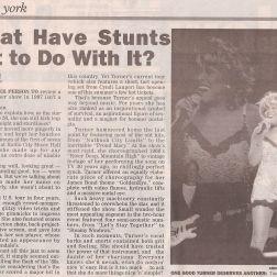 Tina Turner -Concert Review- New York Daily News - USA - 1997