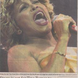 Tina Turner - Minneapolis (Opening Night) Concert Review - UK 2000