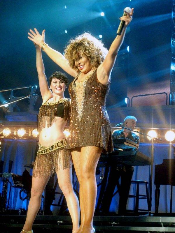Tina Turner live in Dublin O2 - (c) Ingrid K.