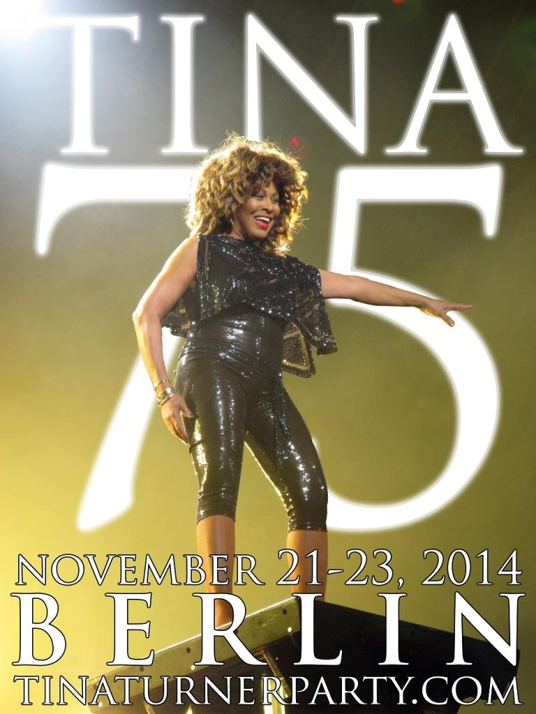 Tina 75 poster