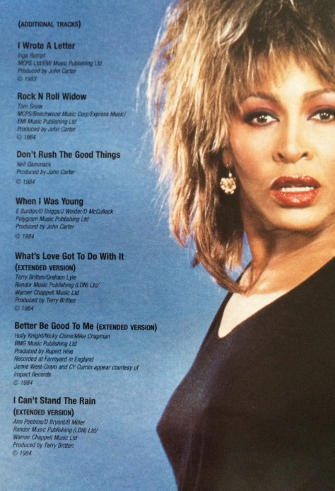 Tina Turner - Private Dancer 2014