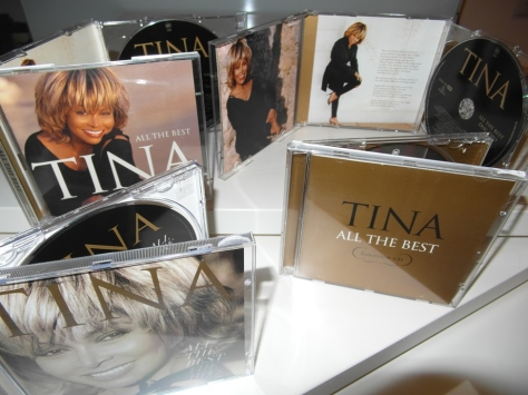 Tina Turner - All The Best - Cover Collage