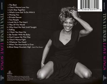 Tina Turner - Love Songs - Back Cover 2014