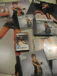 Tina Turner - Private Dancer - Cover Collage