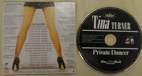 Tina Turner - Private Dancer - The Mail On Sunday