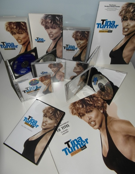 Tina Turner - Simply The Best - Cover Collage