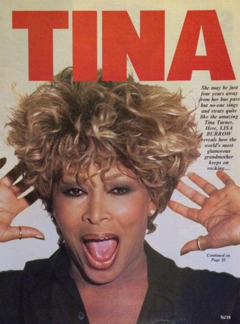 Tina Turner Newspaper